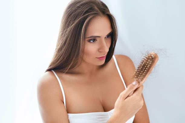Female hair fall treatments