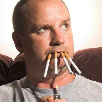 Baldness and smoking